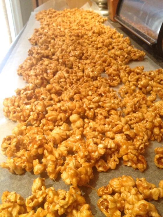 Caramel Corn Cooling