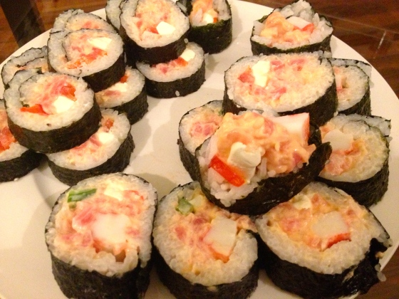 Spicy Tuna Roll 2