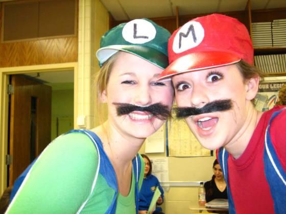 Halloween Senior Year of High School - October 2005. We were so cool.