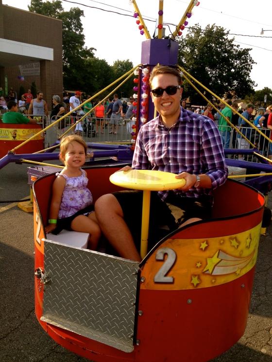 Ella and Patrick at the Carnival