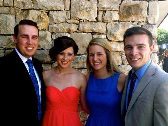 P, Libby, Bree & Michael