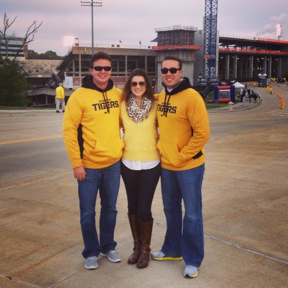 Trenton, Libby & P at Mizzou vs. Florida