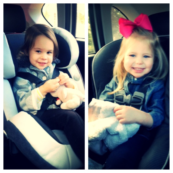 Girls in Carseats
